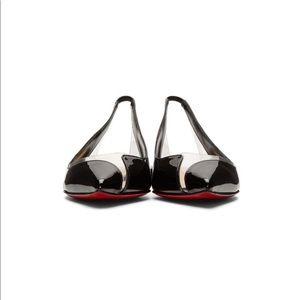 Christian Louboutin Shoes - Christian Louboutin V Dec Ballerina Flats 39